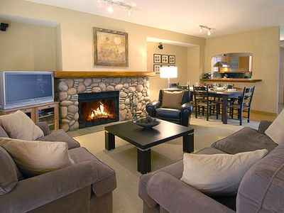 Photo for Whistler Deluxe Townhouse with Private Hot tub, Sleeps 8