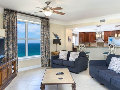 Photo for Impress Your Friends With a Posh Beachview Penthouse!