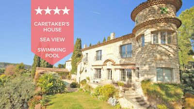 Photo for ❤️ A corner of Heaven on the French Riviera ❤️ Provençal villa, sea view !