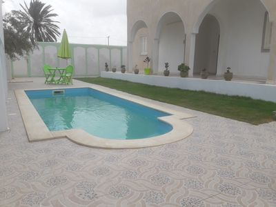 Photo for House with pool on Djerba Houmt souk
