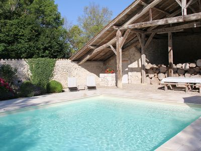 Photo for Stay in an authentic newly renovated French manor