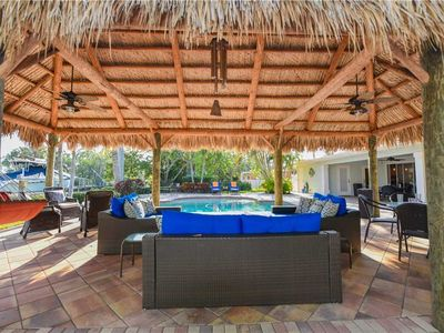 Photo for Canal Front, Private Pool, and September Available! Casa del Sol: 5 BR / 3 BA