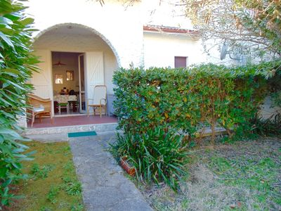 Photo for M224 - Marcelli, three-room apartment with garden 150 meters from the sea