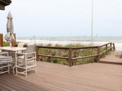 Photo for Newly Remodeled Oceanfront Townhome