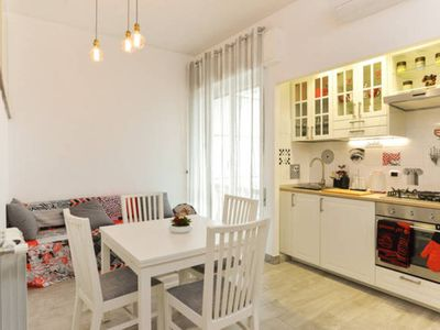 Photo for Charming Apartment Near Piramide/San Paolo -Free wifi - AC - Elevator - Close to Metro B