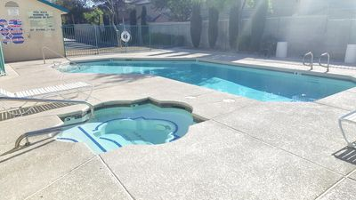 Photo for Beautiful 1 bedroom condo in gated community with pool and spa!