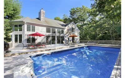Photo for Hamptons Post Modern Colonial with Pool and Tennis Court