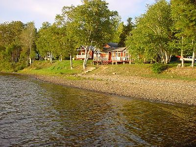 Photo for Quiet & serene, steps to the water, swimming, fishing, hiking, nature all around