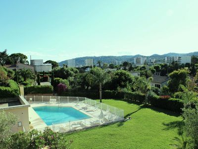 Photo for Apartment 70 m2 Terraces Swimming pool Quiet Clear view quiet private parking.