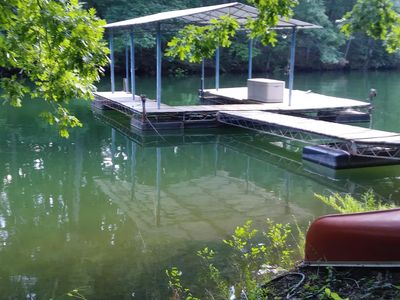 Photo for *New Listing *Crazy Cute Lake House ! 3/2 w/Covered Dock Close to Everything..