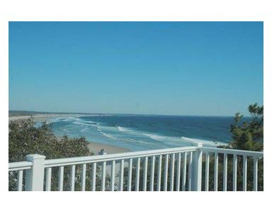 Photo for Ocean view luxury home, Marginal Way area, just steps to small beach, central
