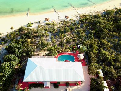 Photo for Beachfront Villa in Turks and Caicos  with private pool ,kayaks and palapas