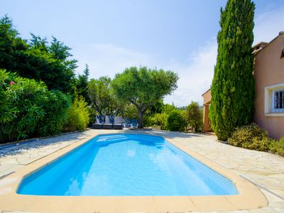 Photo for Luxury villa with view of the putting green - Gulf of Saint-Tropez