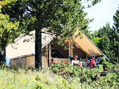 Photo for Camping Huttopia South Ardeche *** - Canadian Tent 3 Rooms 5 People