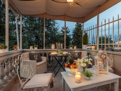 Photo for CASA UCCELLINI with a Romantic Terrace