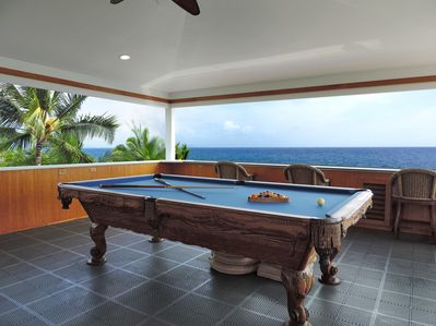 crows nest pool game with 180 degree view