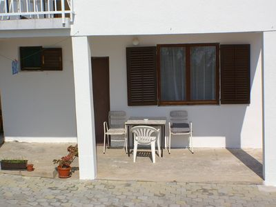 Photo for Studio flat with terrace and sea view Podaca, Makarska (AS-2634-a)