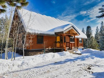Photo for Red Elk Lodge: Luxury Log Home, Game Room, Wrap Around Deck, Quiet Neighborhood
