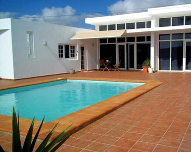Photo for sweet villa celestin lanzarote (wifi and pool heated by the sun)