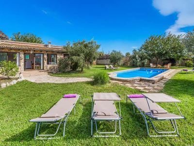 Photo for 3 bedroom Villa, sleeps 6 in Port de Pollença with Pool, Air Con and WiFi