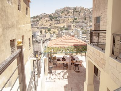 Photo for Royal Luxuries - Old View Amman. Terrace - Garden