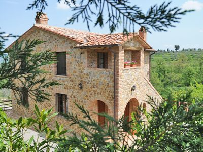 Photo for PRIVATE TUSCAN VILLA WITH POOL FOR 2 PEOPLE - SEASON 2015, LAST WEEKS AVAILABLE!