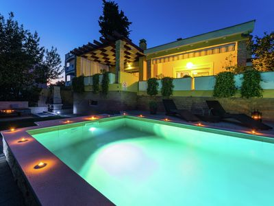 Photo for Luxurious Villa with pool 2km away from Zadar old town, 2 terraces, full privacy