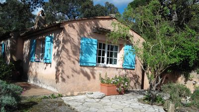 Photo for Charming house in the quiet area of Beauvallon in front of Saint Tropez