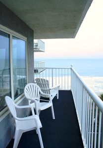 Photo for Seawatch South 403- Relax on the large balcony with this perfect view!!!!