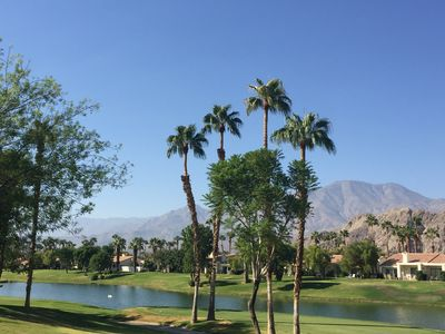 Photo for Remodeled La Quinta-PGA West: Golf & Mountain Views, Fire Pit, Golf Cart & Bikes