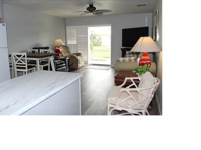 Photo for Condo (brand new kitchen and living room) close to the beach.
