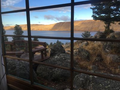 View from dining table