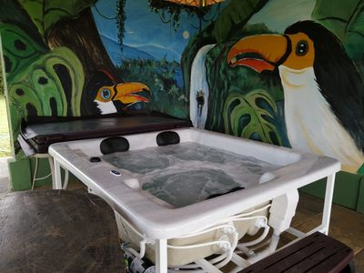 Photo for SJO Airport /  Luxurey B&B w/360* Majastic Views, Jacuzzi, Private