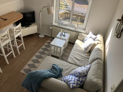 Photo for Apartment Petine Langeoog - renovated in 2018, sun balcony, box spring bed & Co.