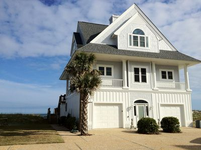 Photo for Oceanfront 6BR / 4 Bath Beach House with 180 degree ocean views