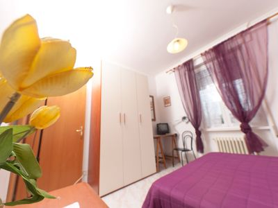 Photo for Large and bright apartment in the city center