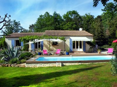 Photo for A very pleasant house with a typical  'provençal' garden.