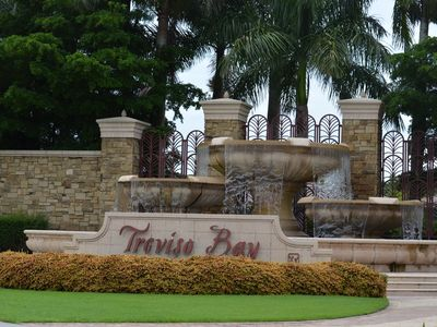 Photo for Beautiful 3 Bedroom, 2 Bath Condo in Treviso Bay! With golf!
