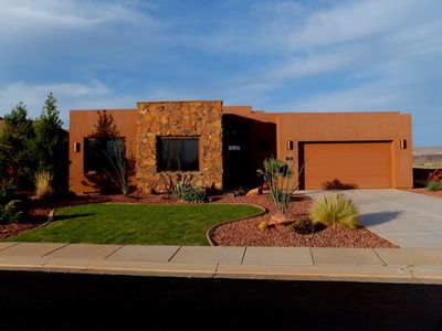 Photo for Backyard Privacy w/Roof Deck, Communal Pools/Hot Tubs - 30 min to ZION!