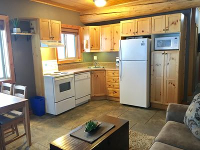 Fully equipped kitchen with dishwasher!!