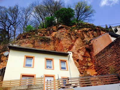 Photo for FELSENHAUS with view over Trier - living in the rock