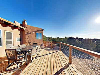Deck - Your rental includes a large, west-facing deck.