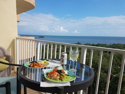 Lunch overlooking YOUR ocean view.