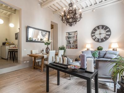 Photo for Find sanctuary at extraordinary rates! Luxury Smart Apartment in Central Lucca