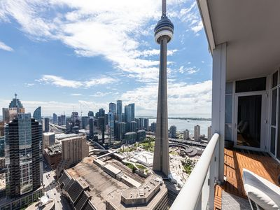 Photo for 2BR+3BTH Luxury Penthouse Steps from MTCC/CN Tower