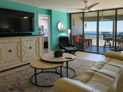 Photo for Fabulous!!! Remodeled 2B/2B Island Vacation Condo at Sunset Resort!  Spectacular Gulf Views, Heated Pool, Elevator, Free WiFi!