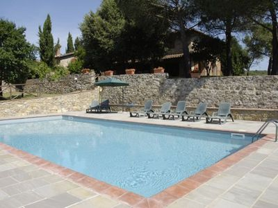 Photo for Wonderful private villa with private pool, WIFI, TV, patio, pets allowed, panoramic view and par...