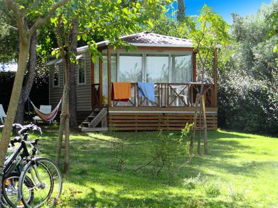 Photo for Camping Fontisson *** - Premium air-conditioned 3-room mobile home 4/6 people
