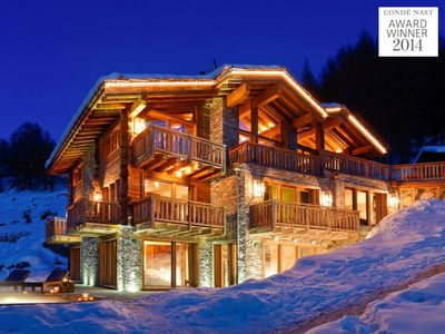 Photo for *LES ANGES - FULLY CATERED 7 BEDROOM CHALET WITH STAFF - WORLDS BEST CHALET