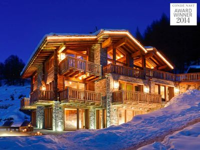 Les Anges - Winner of 2017 Award for Switzerland's Best Ski Chalet